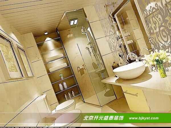 最新洗手间装修效果图 北京开元盛泰装饰